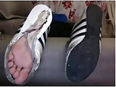 straight guys feet on webcam 59 - soccer player from mexico
