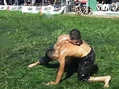 turkish oil wrestling VIII