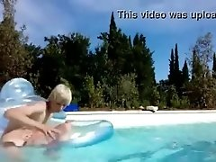 The Blond Boy in the Pool