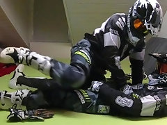 GEARBIKER'S LICKING SUCKING EACH OTHER'S COCK PART I