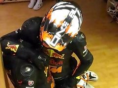 BLOWJOB EXTENDED - BIKER LEATHER - RUBBER - ELECTRIFIED COCK