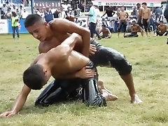 turkish oil wrestling X