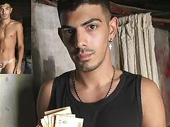 Skinny Twink Latino Boy Paid Cash To Fuck Big Dick Stud POV