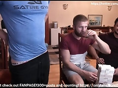 Bottom twink boy gets ravange on straight boys ass with BELT! ouch!