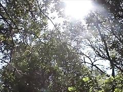 The Amazing ladybug twink's training (Outdoor, forest, feet, throat, POV)