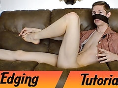 Edging Tutorial (With Demonstration), How to Edge and Have a Powerful Orgasm Experience