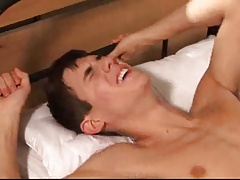 Hung twink soldier pounded and jerked.....