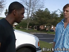 Kyle Powers Tries Gay Sex With A Black Guy