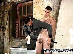 Free gay bondage masturbation tube Dominant and masochistic Kenzie