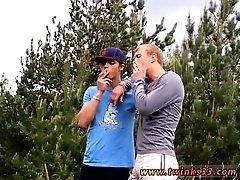 Xxx fuck gay porn school uniform photos Roma and Archi Outdoor Smoke Sex!