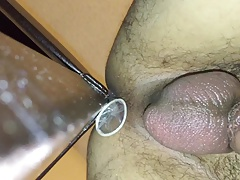 Sexy ass twink anal self fuck