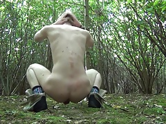 Twink slut amateur ass and dick outdoor vid uncut