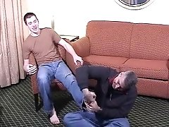Ticklish guy 2