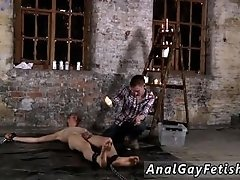 Gay men blood from hole movies porn His man rod is encaged and unable to