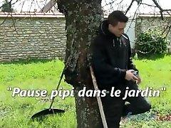 Piss Break in the Garden