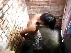 Str8 spy boy in shower