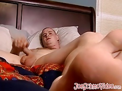 Horny amateur dude Keith delivers a huge load of hot jizz