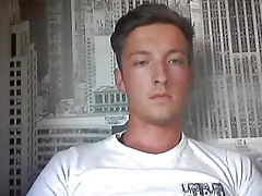 German Beautiful Boy With Big Cock,Tight Smooth Ass On Cam