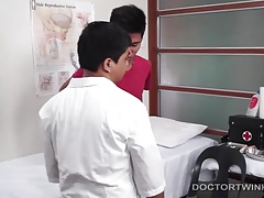 Kinky Gay Asian Anal Medical Exam