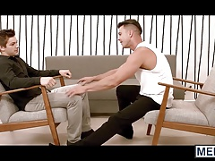 Paddy O Brian and Johnny Rapid explore each others bodies