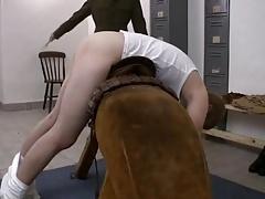 Army twink spank