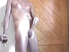Smooth Twink Sardinia Jacks His Meat