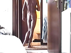 Smooth Twink Sardinia does Naked Laundry Slo-Mo