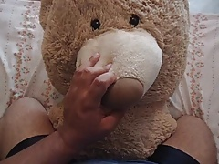 HUMPING MY TEDDY BEAR (ME ON TOP)