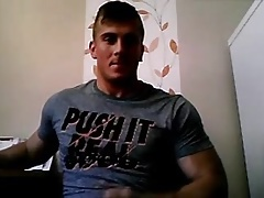 Slovakian Muscle Boy,Great Big Ass,Tight Pink Hole,Nice Cock