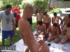 Daniel's naked frat guys swimming hot gay group college