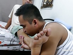 Twinks Alex and JR Foot Fetish Raw Fuck