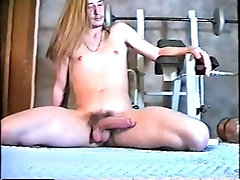 Longhair Blonde Surfer Showers and Cums