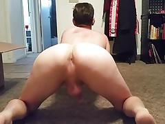 Up Close Showing Cock & Ass