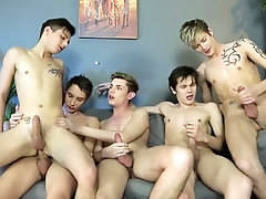 Twinks orgy