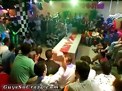 Gay anal sex video teen This amazing male stripper party heaving with