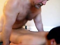 Daddy fucking his boy deep in ass - more videos on gaytube18.net
