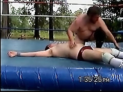 Backyard Wrestling Squash Match