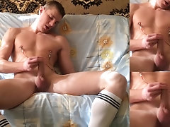 Mitya Chezz, Masturbation in socks