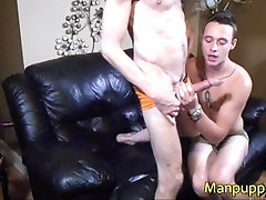 Teen Fucks Daddy Bareback - Tristan Sweet - Richard Lennox - Manpuppy