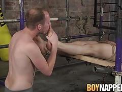 Dirty slave Kamyk Walker gets punished by Sean Taylor