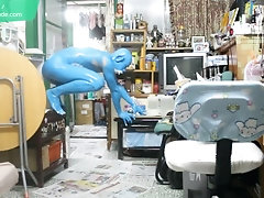 19 Years Old Digitmon Veemon Boy / Body paint / Bodypaint Naked Cosplay