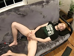 VIRGIN TEEN COLLEGE PUNK - BIG DICK LOUD MOANING
