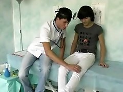 Young doctor &amp_ young patient!