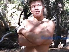 CaMenTv.com Model gets naked for his first porn shoot