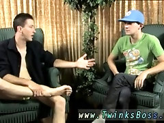 First time straight young teens gay Danny Brooks sits down to talk with