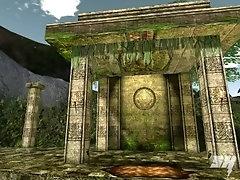 Horny Warrior Fucks the Maya Prince