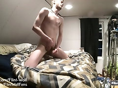 Flint Wolf Ultimate daily Cum Challenge day 32