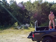 Drone Caught Me Spewing Jizz Naked On My Truck