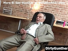 Dirty Gunther plays with young guy