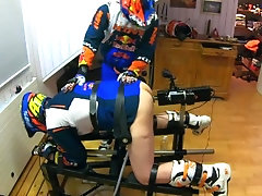 MX GayBiker Fucking chair and sucking and much more in 34'